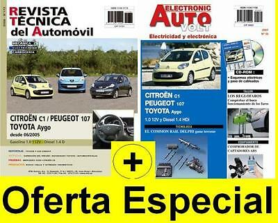 Manual De Taller Toyota Aygo , 2005 + Manual Electrico Cd Rom  E58 Y Tester