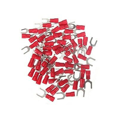 20Pcs 0.5-1.5mm² Red Heat Shrink Electrical Terminal Connectors (C83)