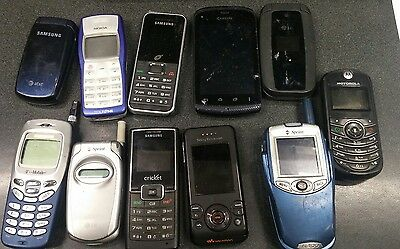 used cell phone lot parts only