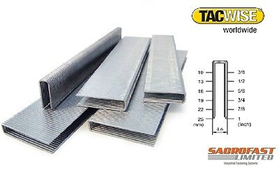 Tacwise 97 Series Narrow Crown Staples 10-25Mm