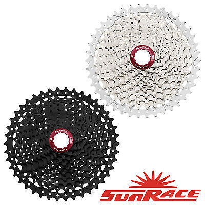 SunRace MX3 Cassette MTB 10 Speed 11-40t-42t Wide Range Shimano SRAM compatible