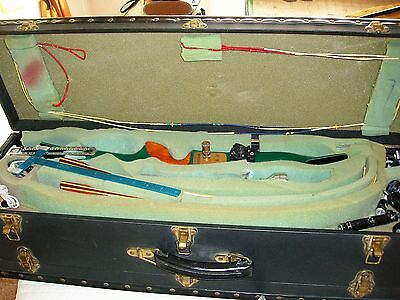 Archery Bow, Cases And Large Amount Of Equipment