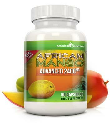 Pure African Mango Advanced 2400mg 60 Diet Capsules Evolution Slimming