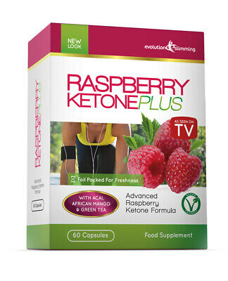 Raspberry Ketone Plus Weight Loss 60 Capsules As Seen on TV Evolution Slimming