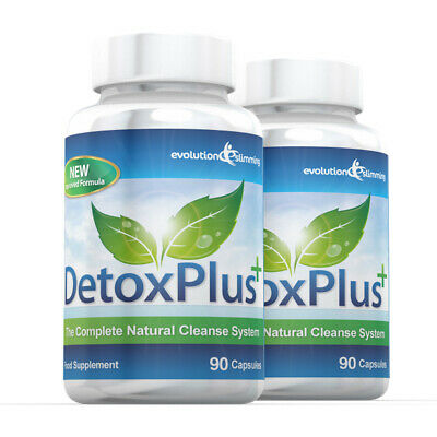Detox Plus Pure Safe Colon Cleanse Weight Loss 180 Capsules Evolution Slimming