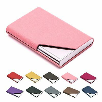 Men Women Unisex Mini Bank Credit Card Holder Pocket Sliding Box Business Wallet
