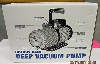 Mastercool 6 Cfm Vacuum Pump 110/120V (Single Stage) 90066-B