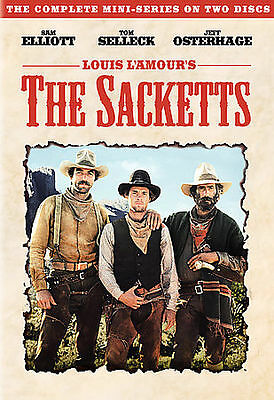 The Sacketts (DVD, 2006, 2-Disc Set) The Complete Miniseries)Brand New