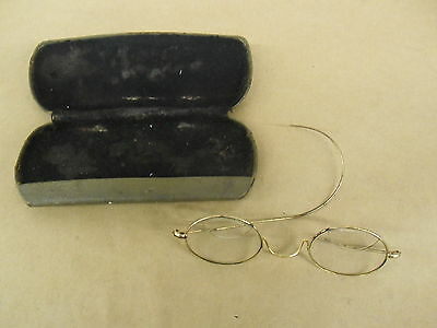 Antique Vintage Gold Wire Rim Eyeglasses  Glasses Bifocals