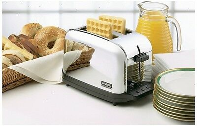 NEW - Waring Commercial Toaster 2 Wide Slots 120V
