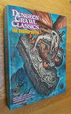 The Chained Coffin - Dungeon Crawl Classics Campaign Box Dcc Osr Rpg #83 Oop New