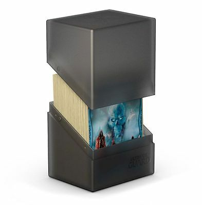 Ultimate Guard - Boulder Deck Case 100+ Onyx - Gaming Card Box for Arkhive