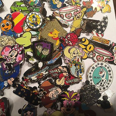 Disney Trading Pins Lot Of 50 100% Tradable  No Doubles Fast Free Usa Shipping 6