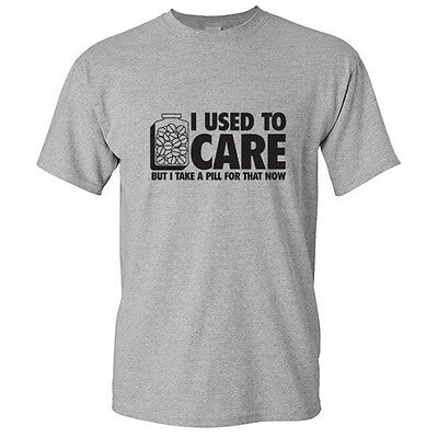 Take A Pill Sarcastic Graphic Gift Idea Humor Adult Cool Funny Novelty T-shirt
