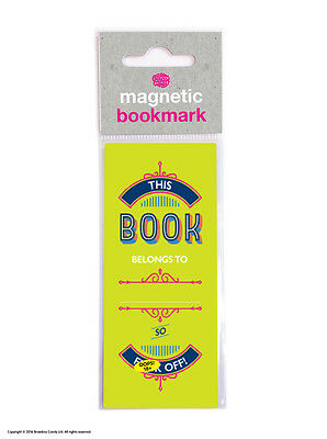Bookmark Magnetic Funny Rude Humour Novelty Cheap Present Gift Reading Books