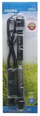 Marina Submersible Pre-Set Heater 200w