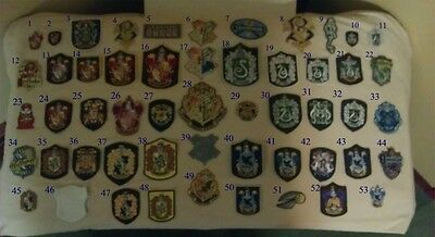 Select 30 patches from this Rare Harry Potter Patches Collection