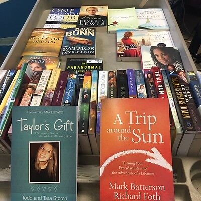 Wholesale Lot Of 45 Religious / Christian / Inspirational Books Brand New $1,350
