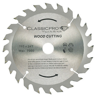 Saxton 165mm x 24t tct cordless circular saw blade dewalt makita classicpro tct 165mm x 20mm16mm bore 24t circular saw blade for wood keyboard keysfo Gallery
