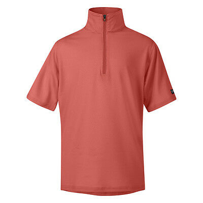Kerrits Ice Fil Short Sleeve Riding Shirt - Childs/Kids - Diff Sizes - Sorbet