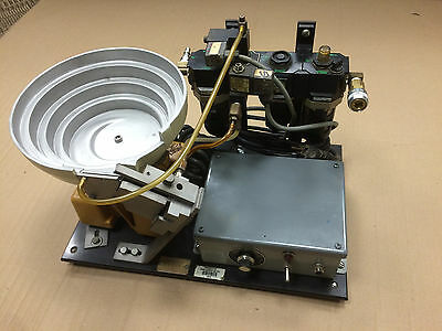 """9"""" vibrating bowl parts feeder by Parts Feeders Inc. Model B-10"""