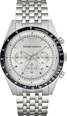 Emporio Armani Sportivo AR6073 Chronograph Stainless Steel Quartz Men's Watch