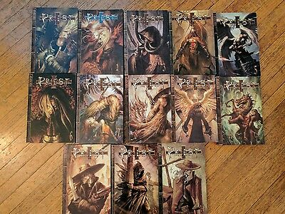 Priest English Manga. Vol 1-14 *Missing Vol.10. Great Condition. Fast Shipping.