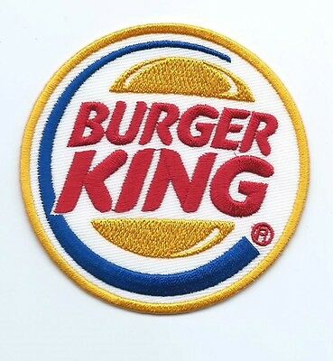 Burger king employee/driver patch 3 in dia #1514