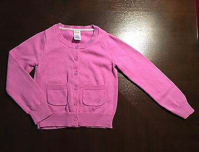 Little Girls Button Front Cardigan Sweater. Gymboree Brand, Size S (5/6). NWOT