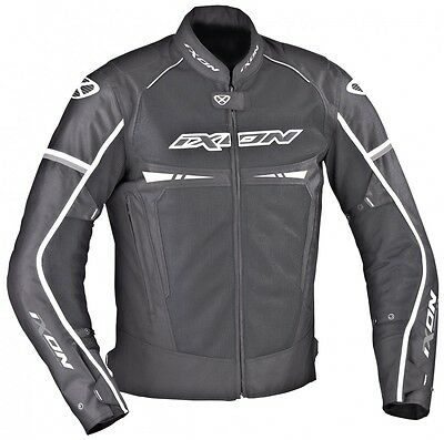 Ixon Pitrace Waterproof Vented Textile Motorcycle Jacket with CE Armour