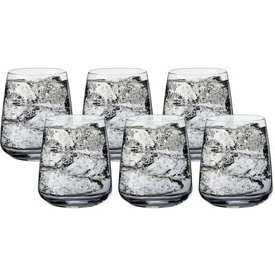 Bormioli Rocco - Premium Sparkling Water Stemless Glass 420ml Set of 6 (Made in