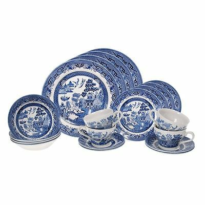 Blue Willow by Churchill - 20pc Dinner Set (Made in England)