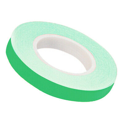 Oxford motorcycle motorbike Wheel Stripes Fluo Green & Applicator 7mm x 6m