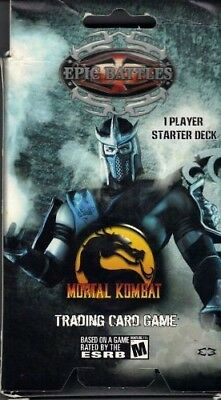 Epic Battles Mortal Kombat 1 Player Starter Deck