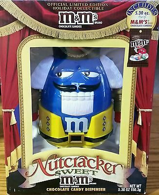 M & M Nutcracker Sweet Christmas Holiday Collectible Chocolate Candy Dispenser