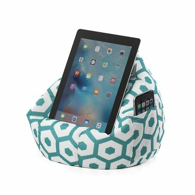 iCrib Tablet Bean Bag Cushion – Geo Mint – pillow stand ipad Samsung Android