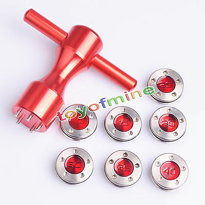 10g~40g Golf Custom Weights + Red Wrench For Titleist Scotty Cameron Putters