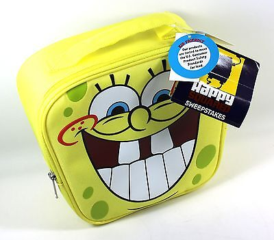 SpongeBob Squarepants Soft Zippered Insulated lunchbox Nickelodeon