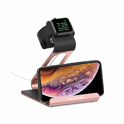 Mercase Apple Watch Stand with Night Stand Mode Charging Stand Bamboo Bracket Do