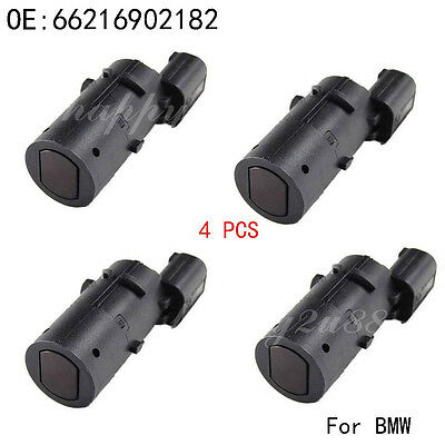 4PCS Parking Assist Sensor PDC Fits BMW E38 E39 E53 X5 66216902182 66218375533