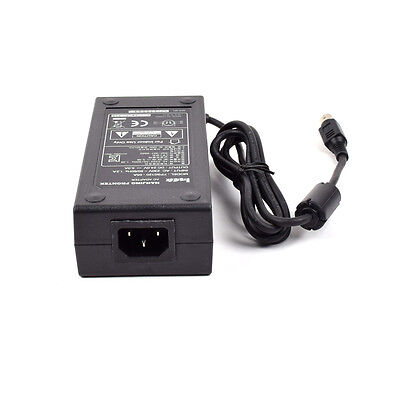 """24V 5A Power Supply 4pin Adapter for 27"""" Monitor"""