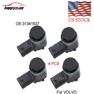 4 x PDC Parking Sensor For VOLVO C30 C70 XC70 XC90 S60 S80 V70 30786968 31341637