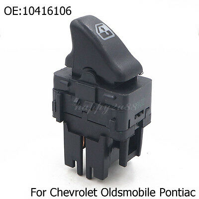 Front Master Power Window Switch 4 Door Left LH for Buick Cadillac Oldsmobile