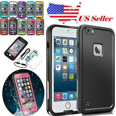 2017 Redpepper Waterproof Shockproof Proof Hard Case Cover For Apple iPhone 6 6S