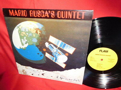 MARIO RUSCA'S QUINTET Same LP 1986 ITALY MINT- Jazz Post Bop
