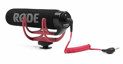 Rode VideoMic On Camera Mounted Shotgun Mic Microphone w/ Windshield for Canon T
