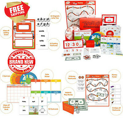 Teach My Kindergartener Learning Kit Deluxe Kids Children Play Toy educational