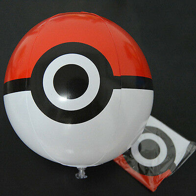 Swimming Pool Party Pokemon Pokeball Inflatable Beach Ball Summer Kids Fun Toys