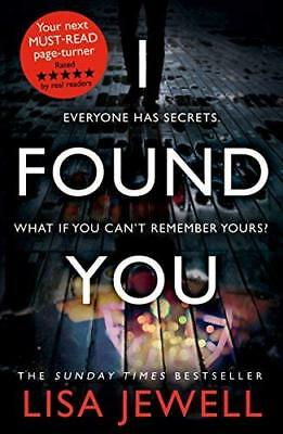 I Found You by Lisa Jewell New Paperback Book