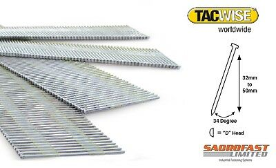 Tacwise 15 Gauge Da Type Angled Finish Nails